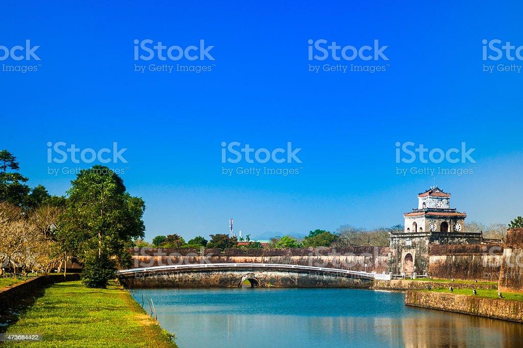 Citadel in Hue stock photo