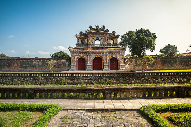 Citadel in Hue stock photo