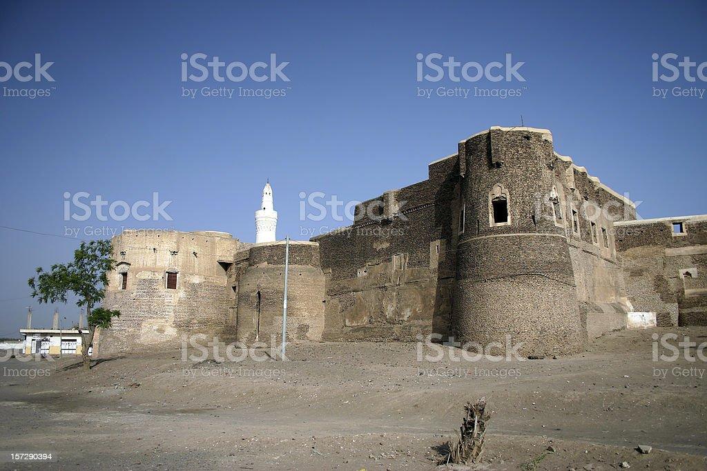 Citadel in Zabid royalty-free stock photo