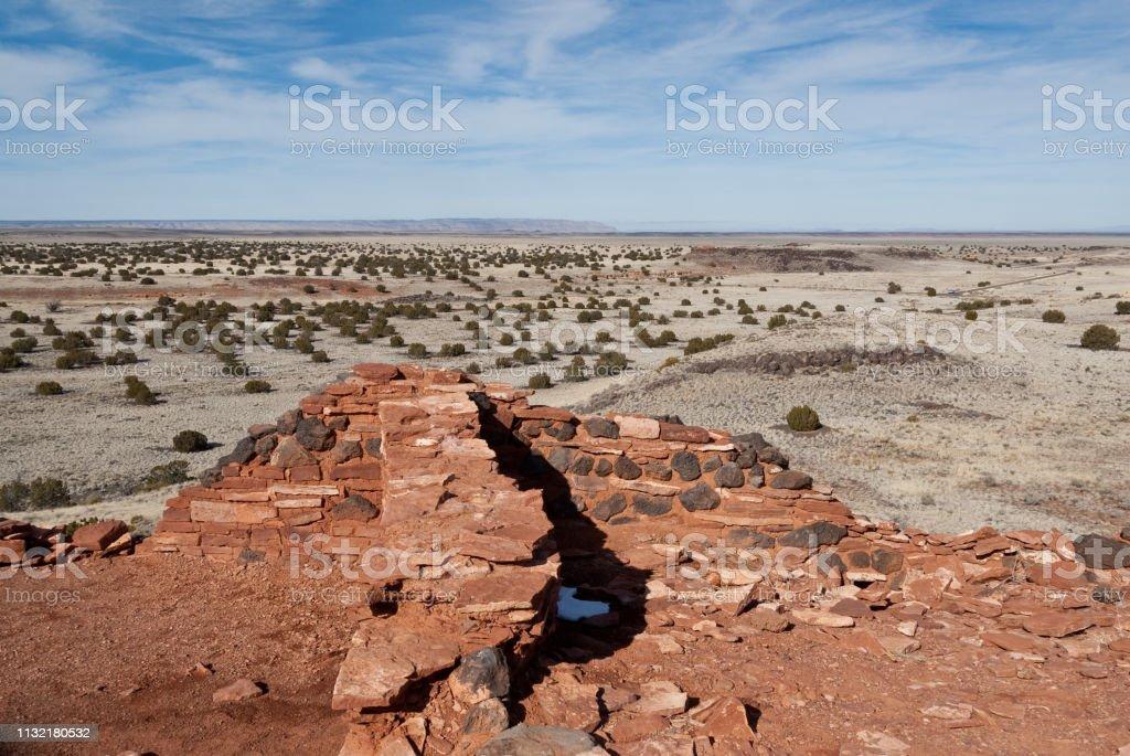 Citadel Mesa stock photo