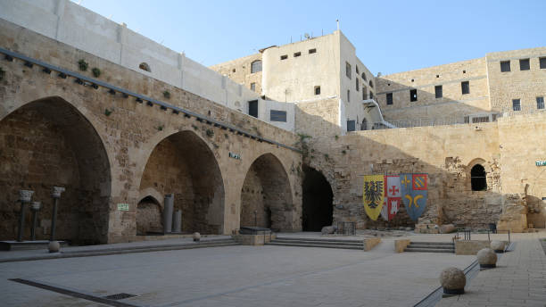 Citadel of Acre stock photo