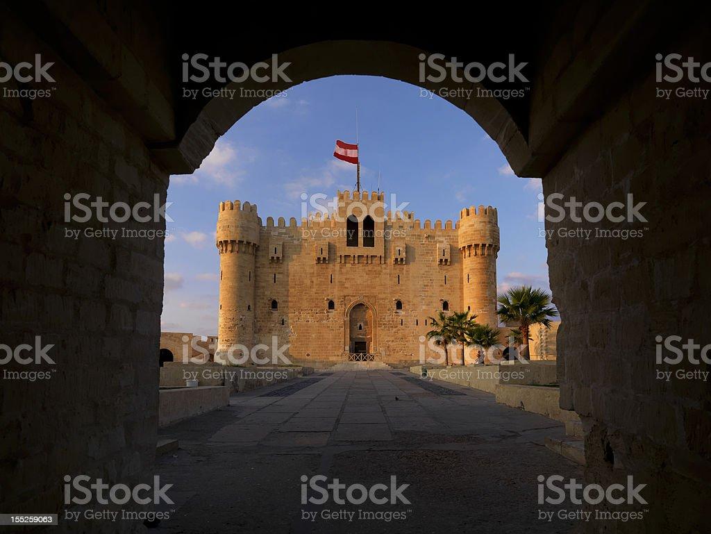 Cidadela de Alexandria - foto de acervo