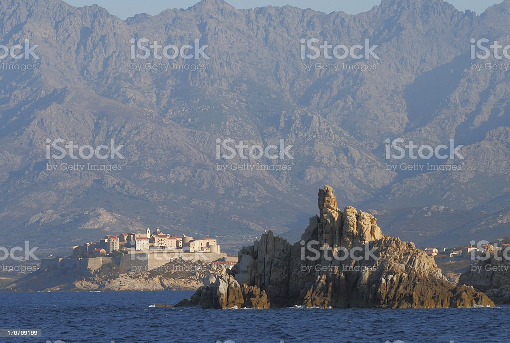 Citadel of Calvi stock photo