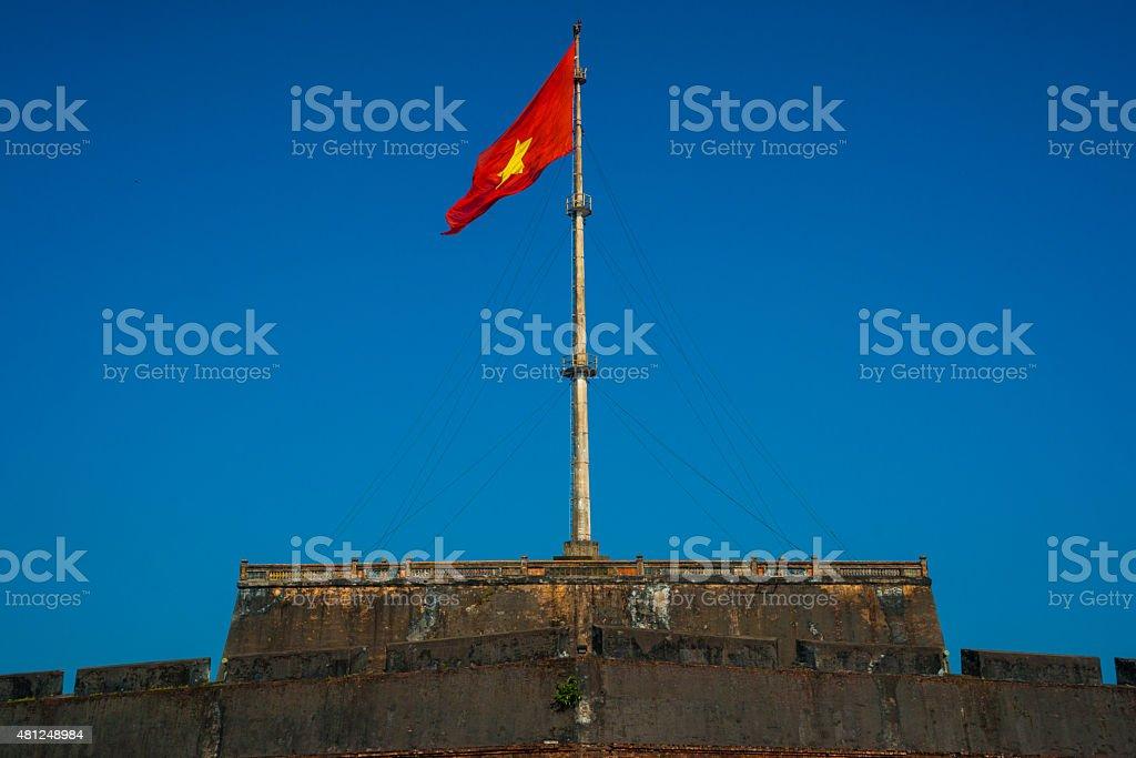 Citadel of Hue stock photo