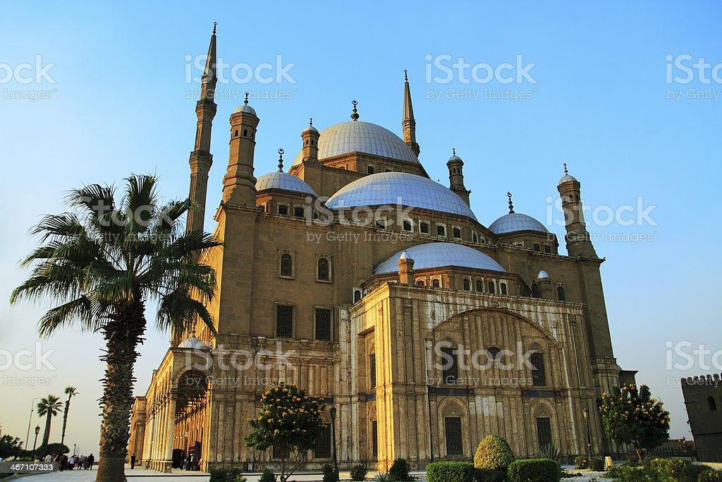 citadel of saladin stock photo