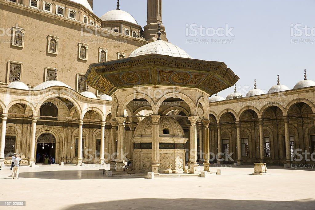 Citadel of Salah Al-Din stock photo