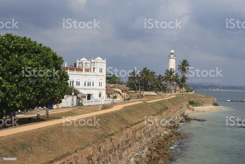 Citadelle de Galle, Sri Lanka stock photo
