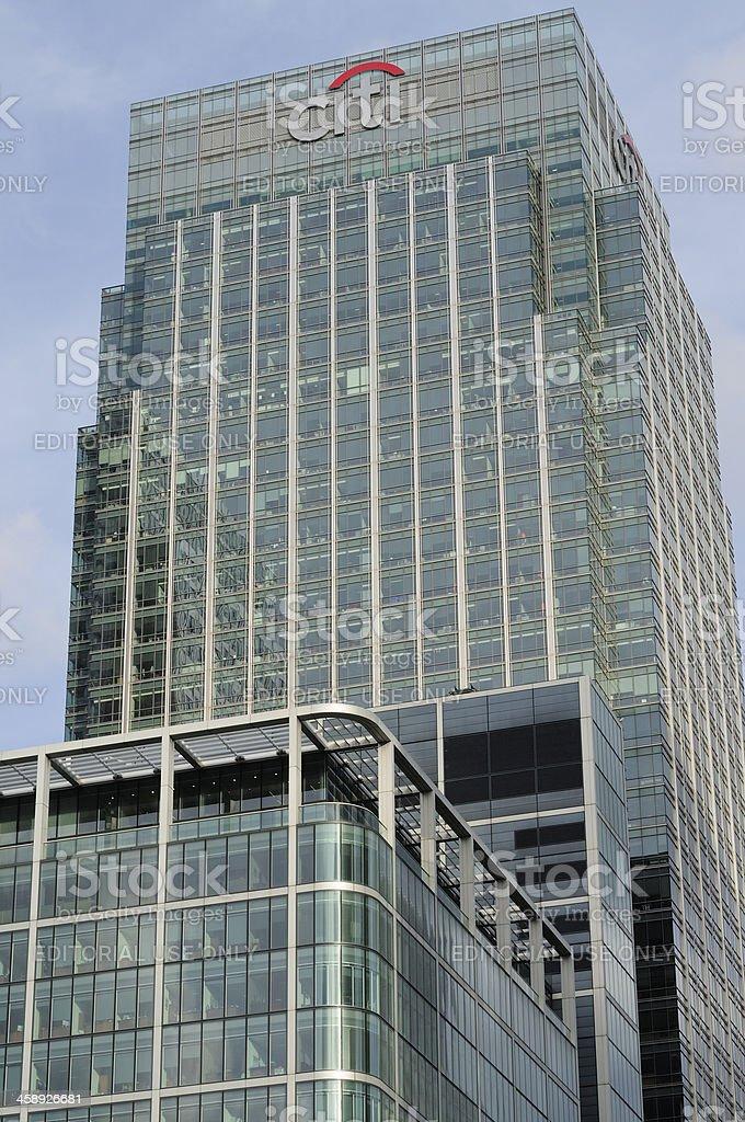 Citi bank royalty-free stock photo
