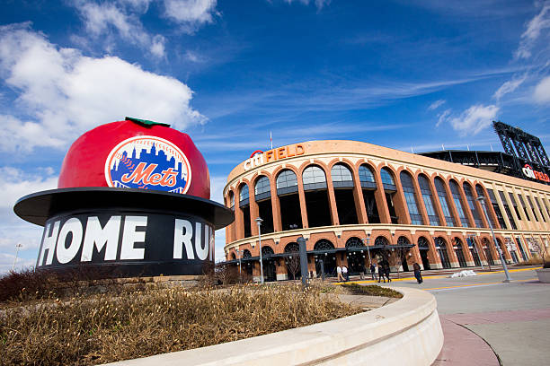 Citi Field Ballpark stock photo