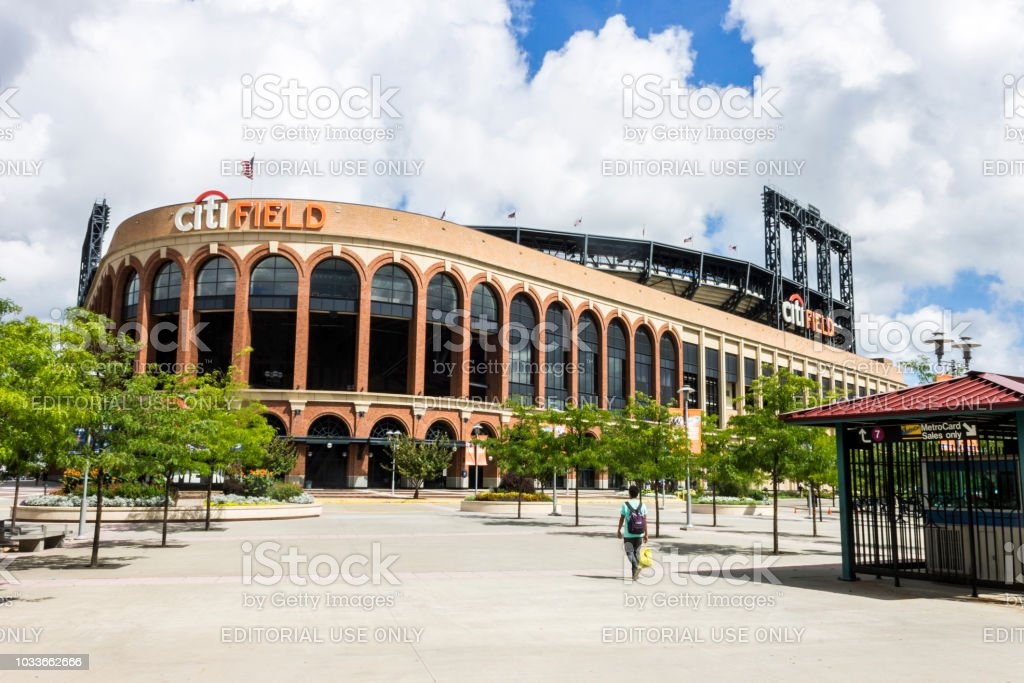Citi Field, New York City stock photo