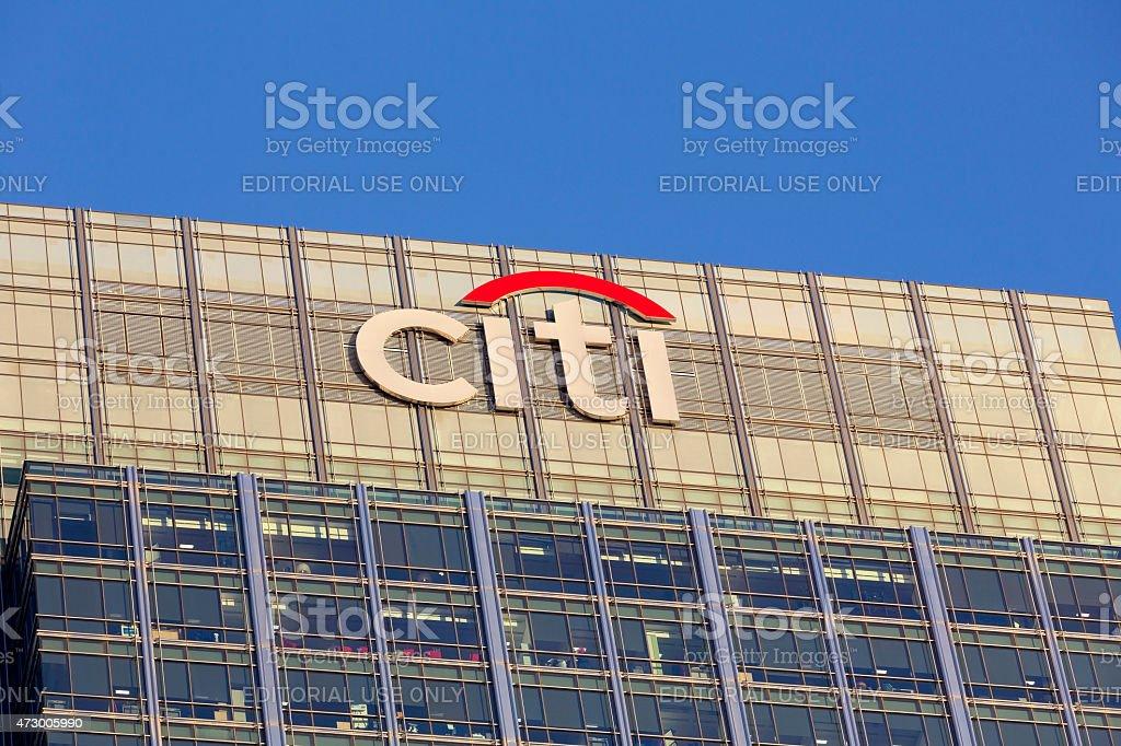 Citi headquarters in London stock photo