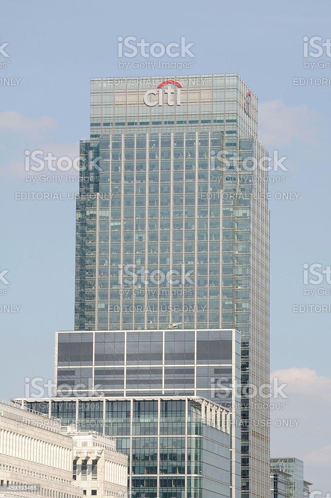 Citibank Building, London stock photo