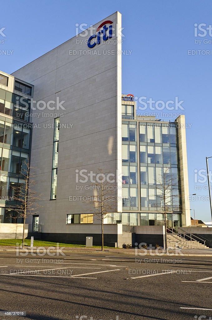 Citibank (Citi Group) headquarters building in Belfast's Titanic Quarter stock photo