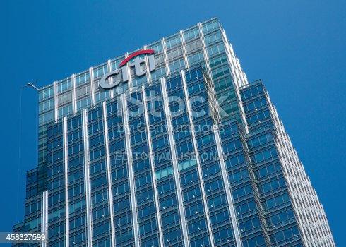 istock Citibank Headquarters London 458327599