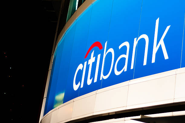 Citibank Logo stock photo
