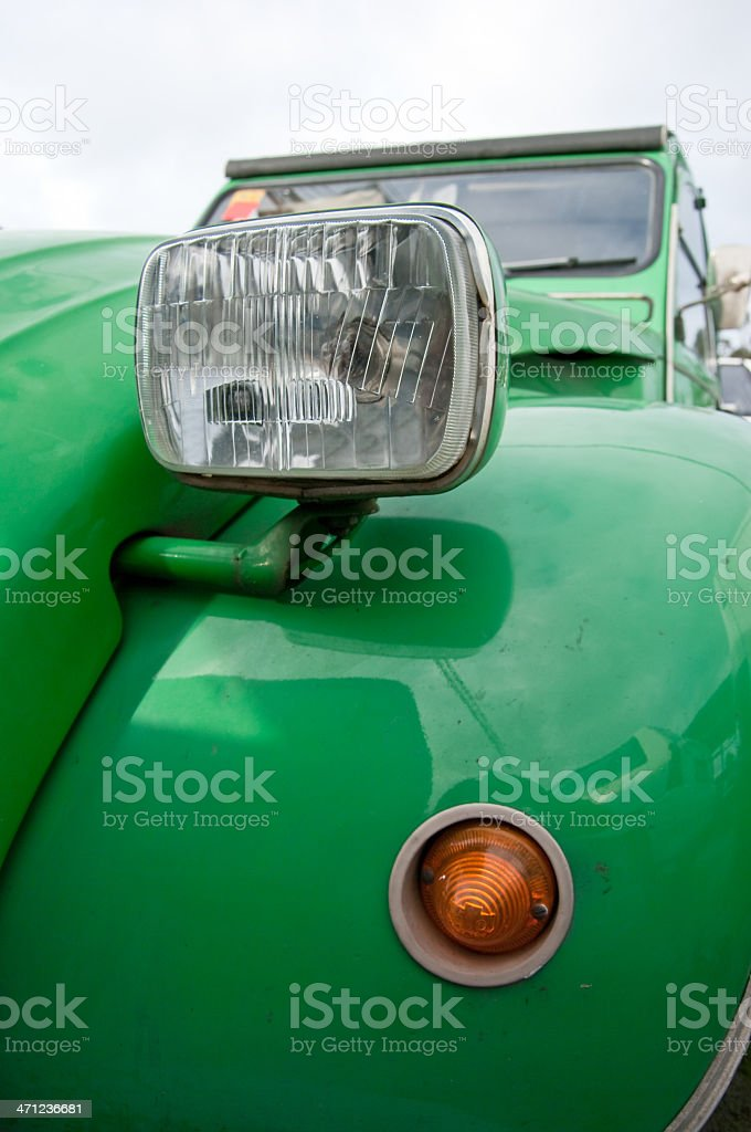 Citroën 2CV royalty-free stock photo