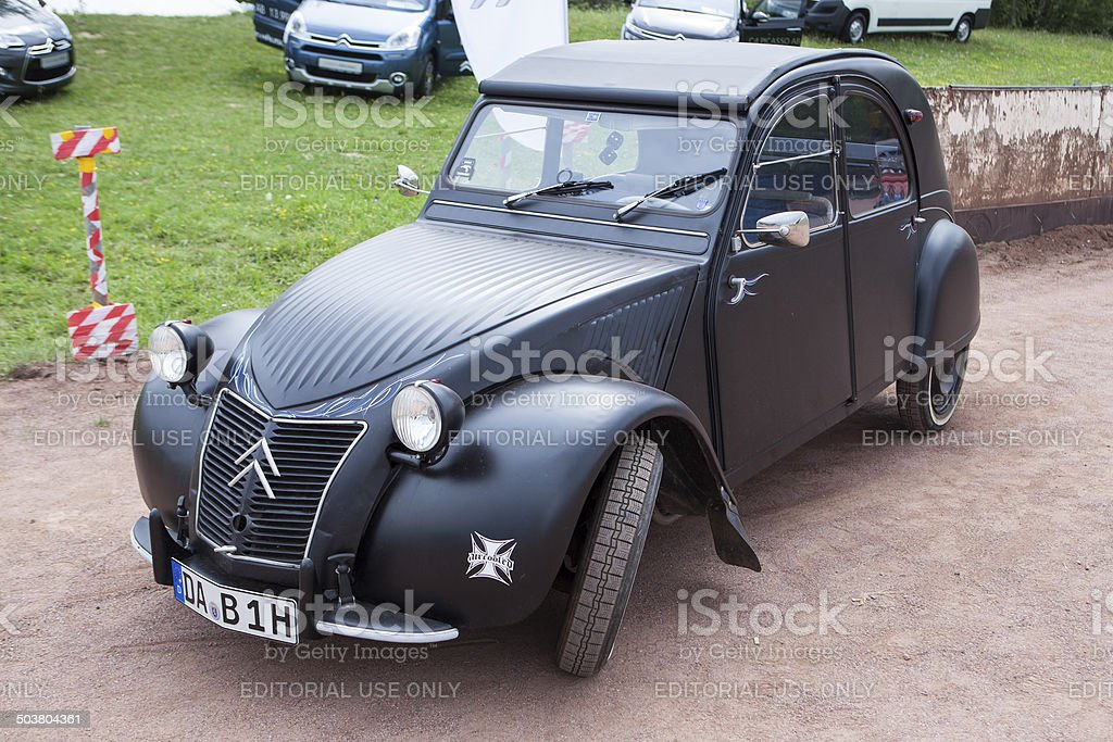 Citroen 2CV royalty-free stock photo