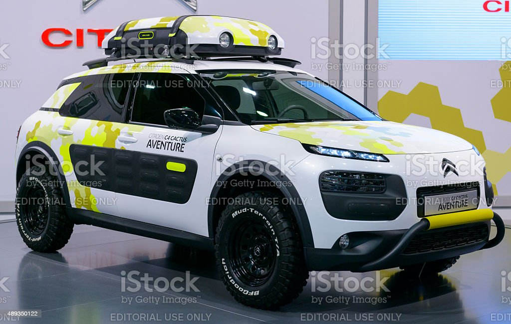 citroen c4 cactus aventure concept car stock photo more pictures of 2015 istock. Black Bedroom Furniture Sets. Home Design Ideas