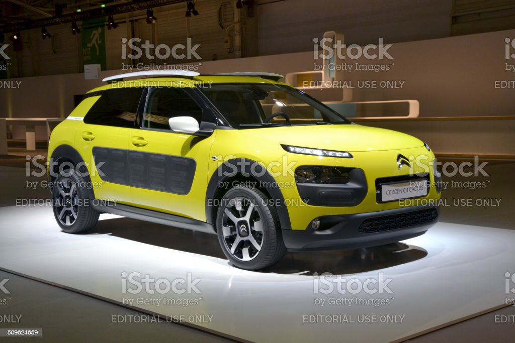 Citroen C4 Cactus at the international press launch stock photo