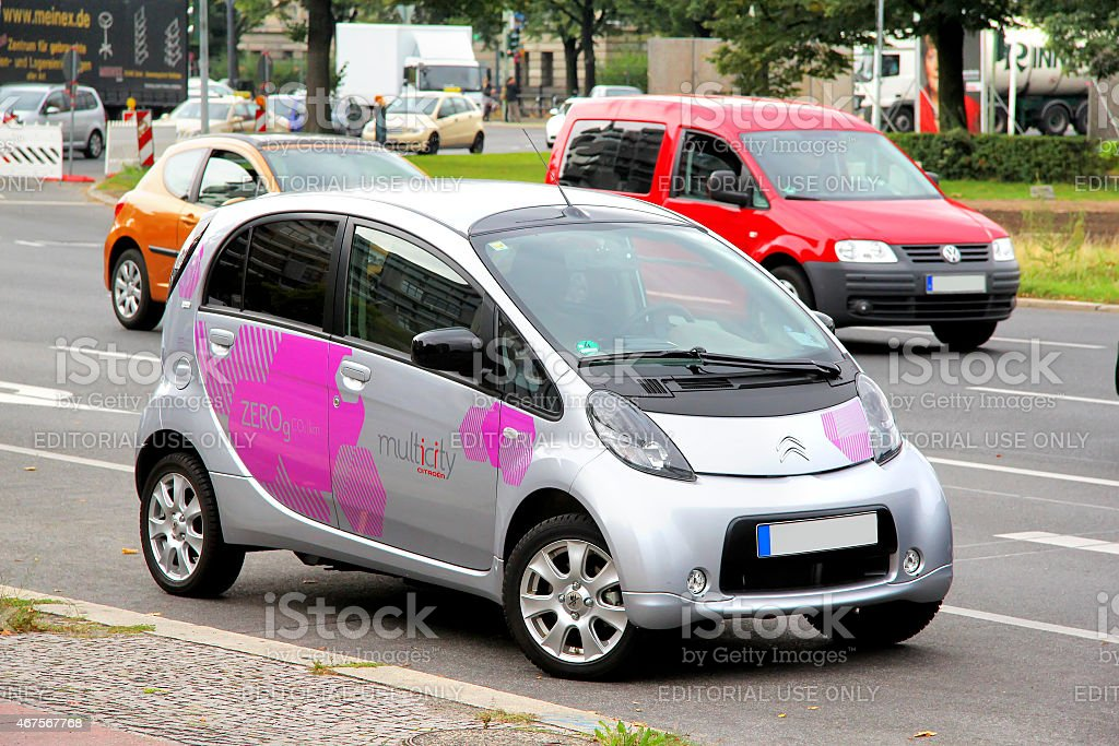 Citroen C-Zero stock photo