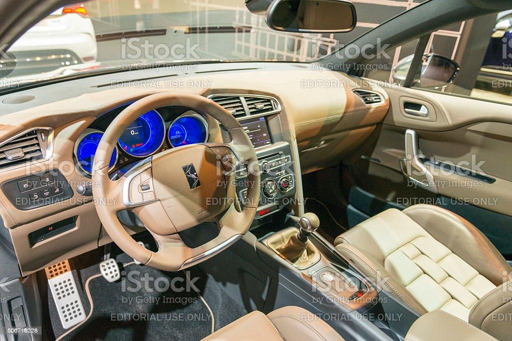 Citroen Ds4 Hecktürmodell Auto Innen - Stockfoto | iStock