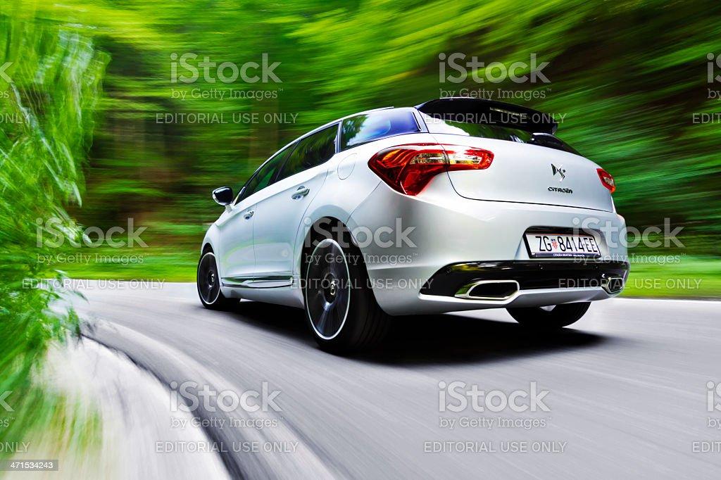 Citroen DS5 stock photo