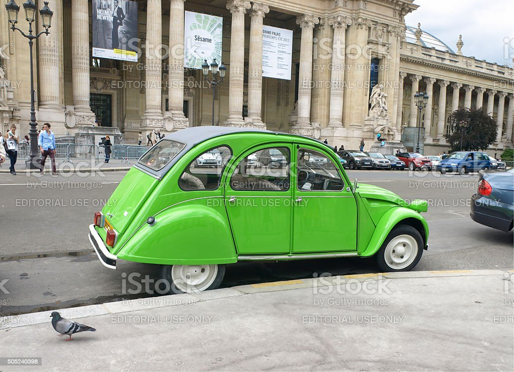 Citroen Dyane car model. stock photo