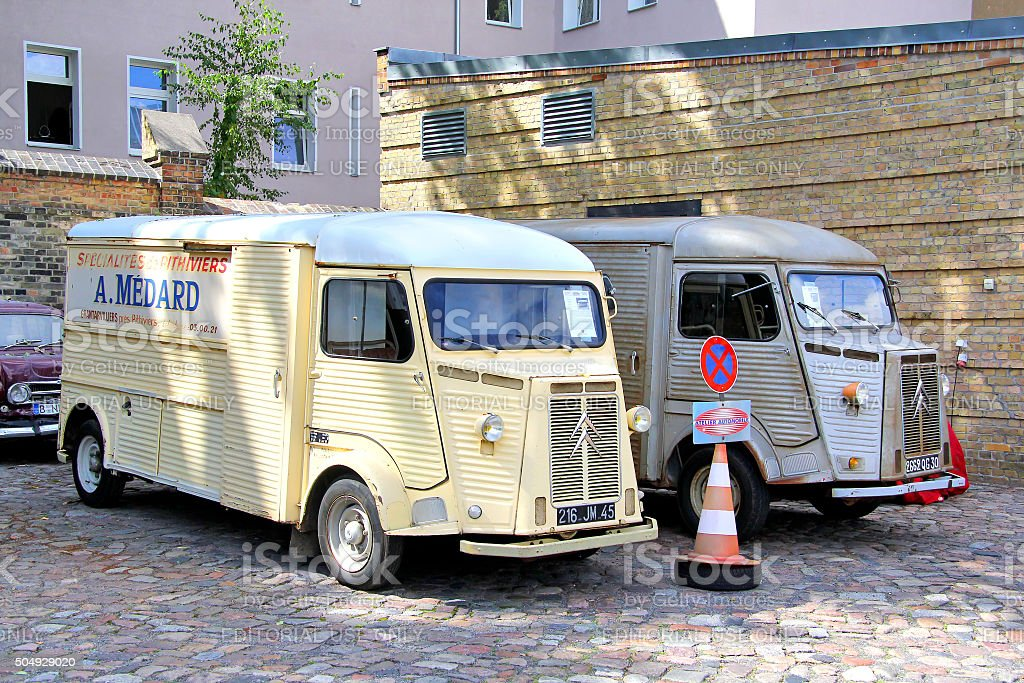Citroen HY stock photo