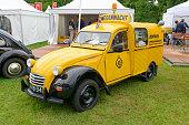 Citroën 2CV AZU ANWB Dutch roadside rescue van