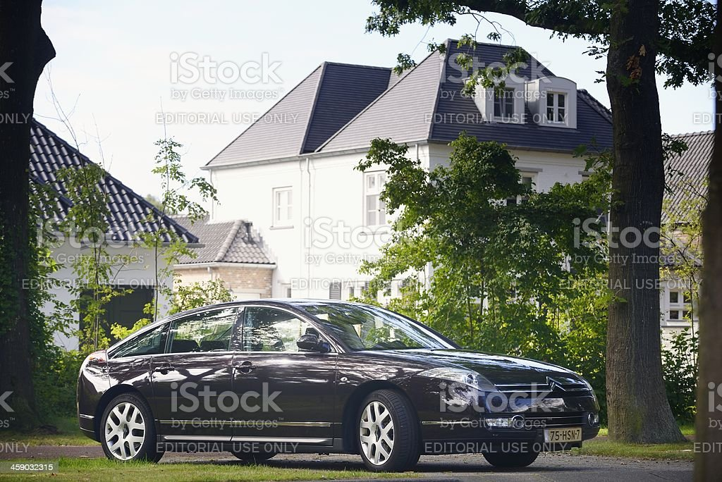 Citroën C6 royalty-free stock photo