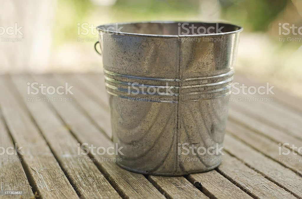 Citronella Candle Tin royalty-free stock photo