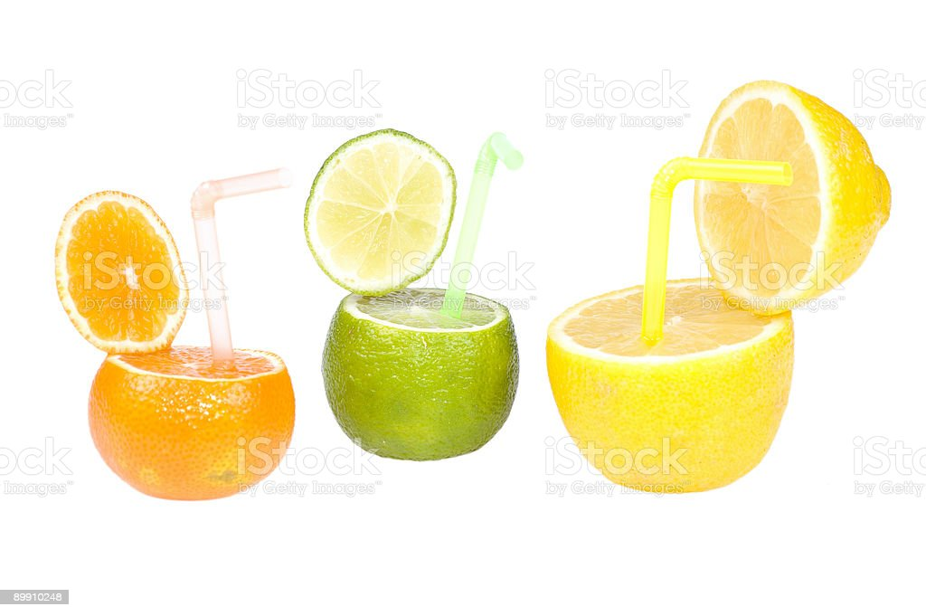 Citrus abstrakte Obst-Getränk. Lizenzfreies stock-foto