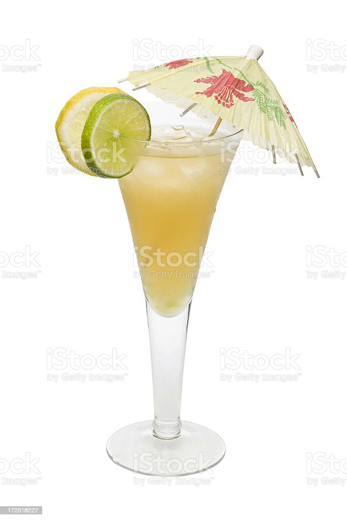 Citrus Cocktail royalty-free stock photo