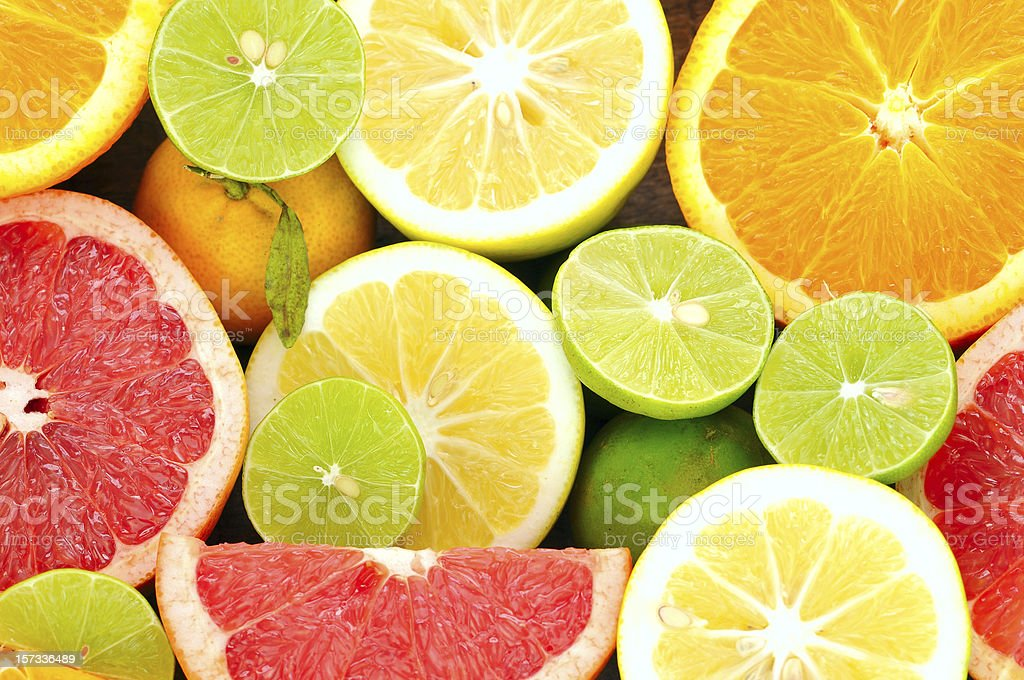 Citrus frutas frescas - Foto de stock de Alimento libre de derechos