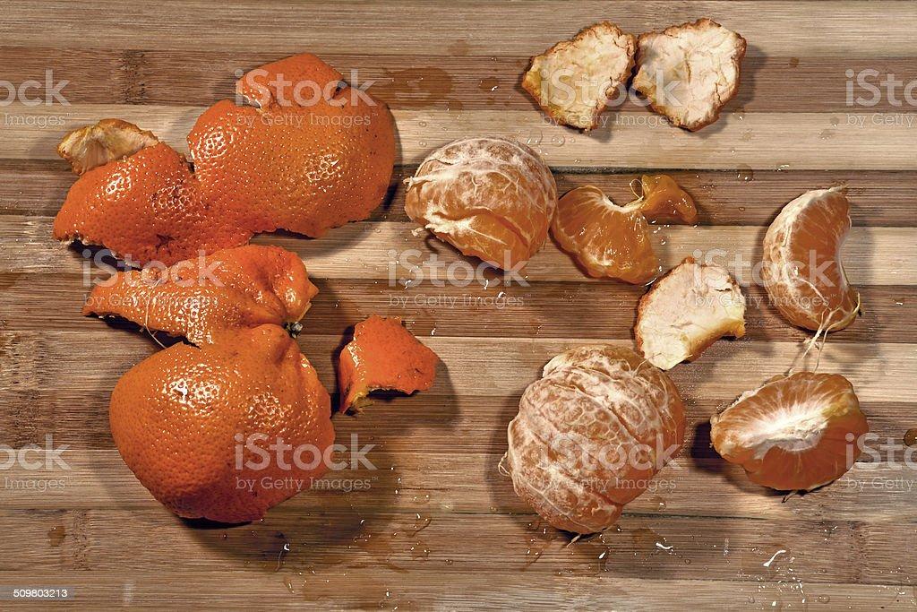 Citrus fruit Naartjie stock photo