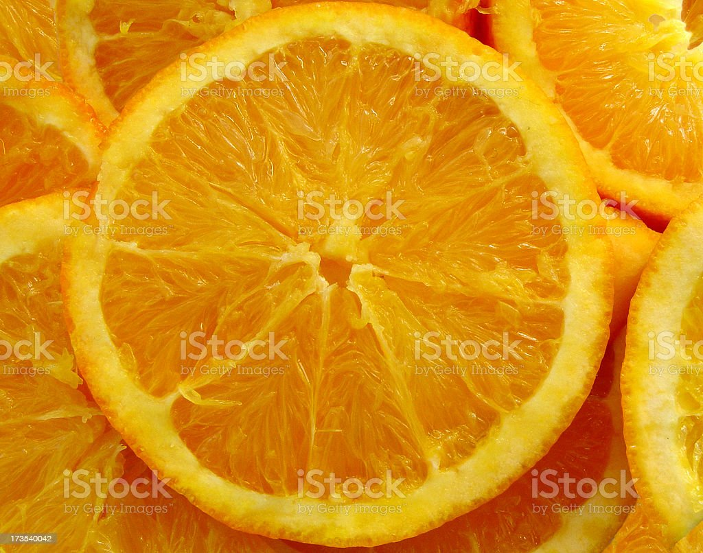 Citrus Fruit Orange Slices royalty-free stock photo
