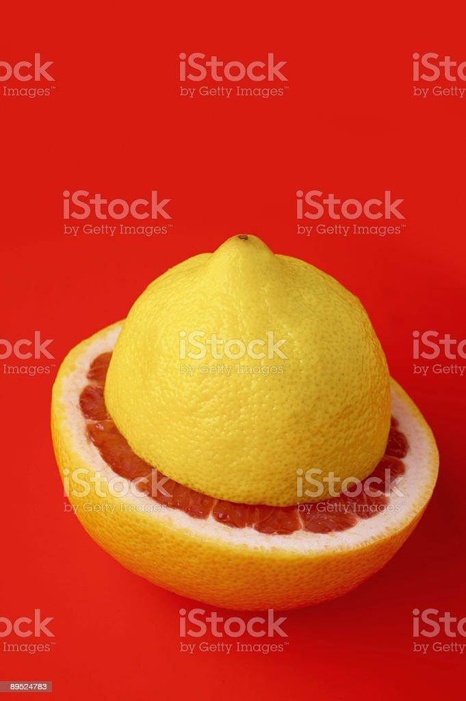 Fruta cítrica foto de stock libre de derechos