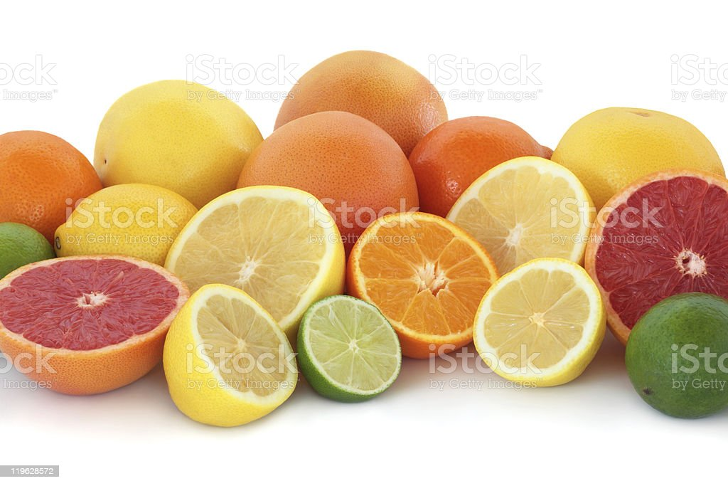 Citrus Fruit Selection royalty-free stock photo