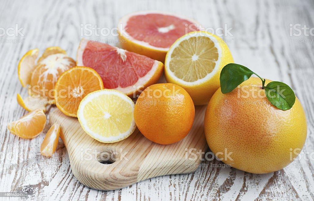 Frutas cítricas - Foto de stock de Alimento libre de derechos