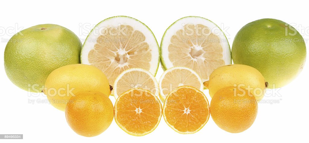 Citrus fruits royalty free stockfoto