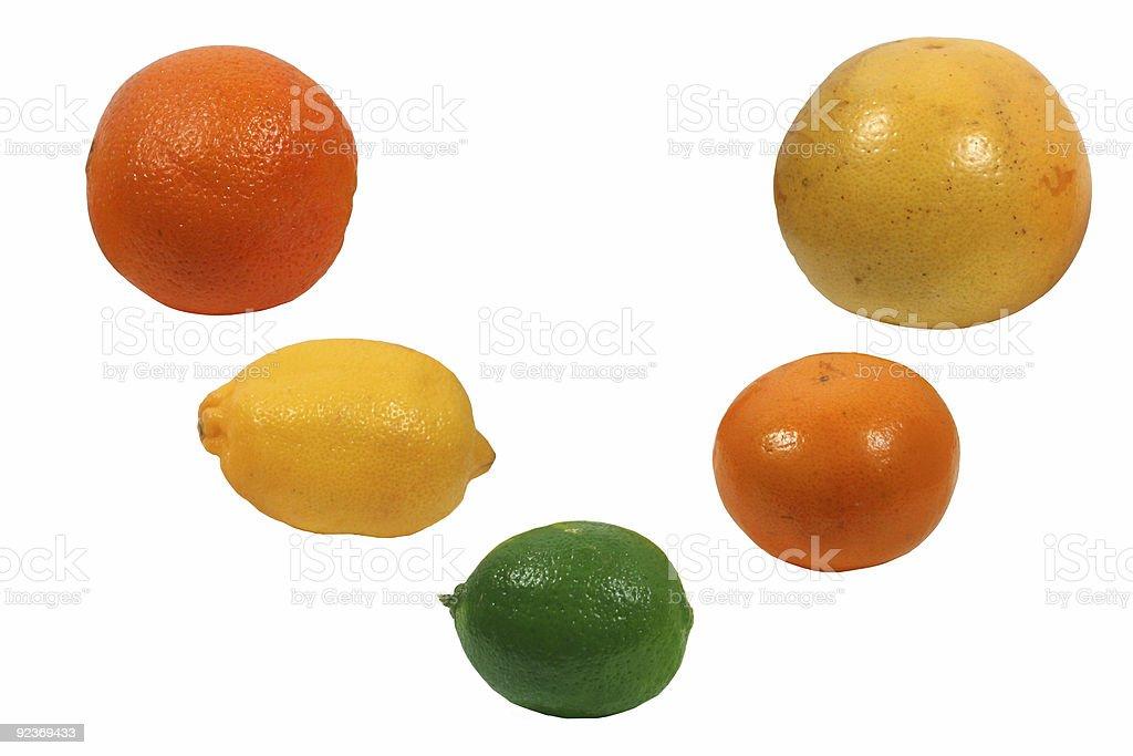 citrus fruits royalty-free stock photo