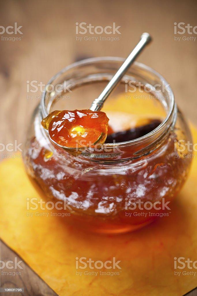 citrus jam royalty-free stock photo