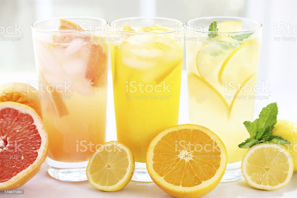 citrus juices stock photo