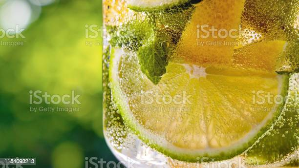 Citrus lemonade summer drink on a green leaves background close up picture id1154093213?b=1&k=6&m=1154093213&s=612x612&h=xyddrqzozzvsftiecysy3wkmwgweexby a6bjleyofo=
