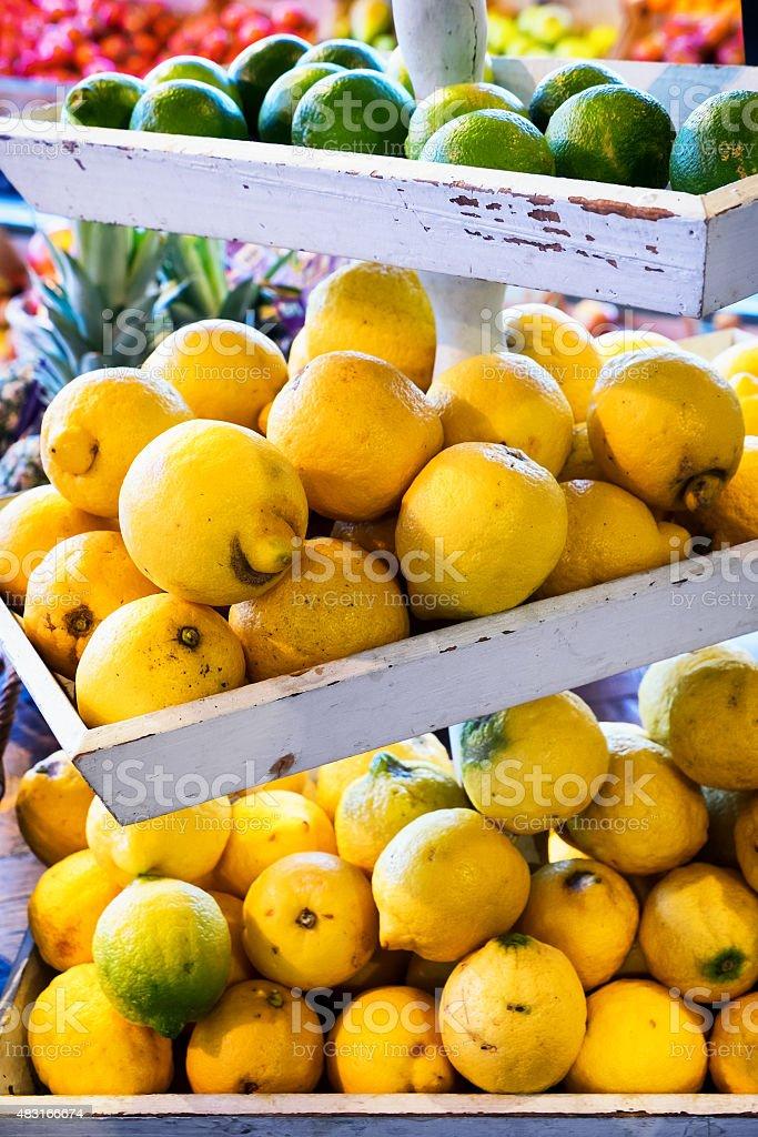 citrus - lemons stock photo