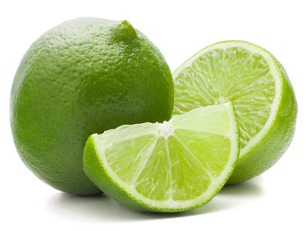 Citrus lime fruit isolated on white background cutout Citrus lime fruit isolated on white background cutout lime stock pictures, royalty-free photos & images