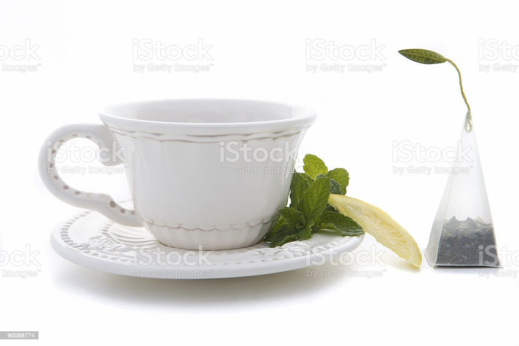 Citrus Mint Tea royalty-free stock photo
