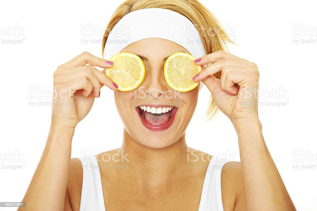 Citrus power royalty-free stock photo