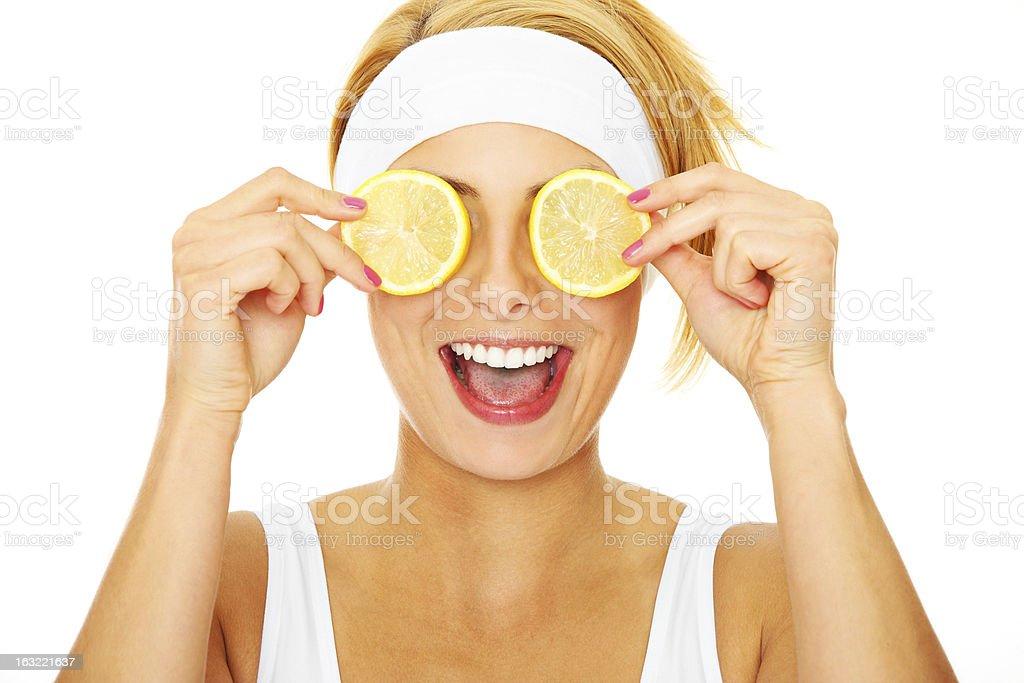 Citrus power stock photo