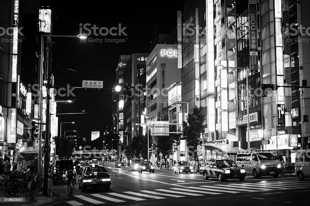 Città di notte - foto stock